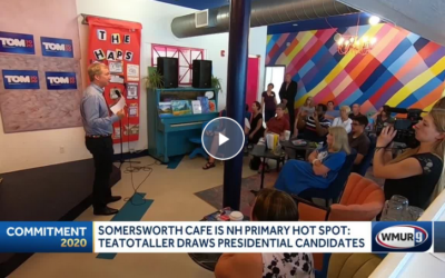 Somersworth café becomes unexpected hot spot for primary candidates