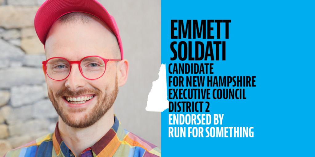 Emmett Soldati endorsed by Run for Something