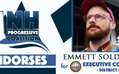 New Hampshire Progressive Coalition Endorses Emmett!