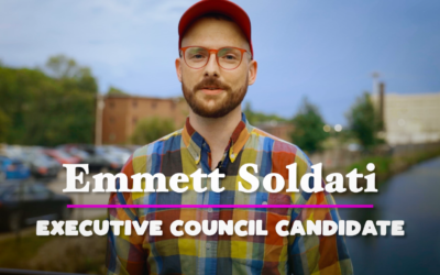 Our Secret to Boosting Turnout || Emmett Soldati for Executive Council