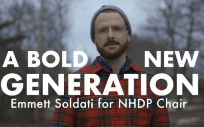 WATCH: New Video for Emmett Soldati's Campaign for NHDP Chair